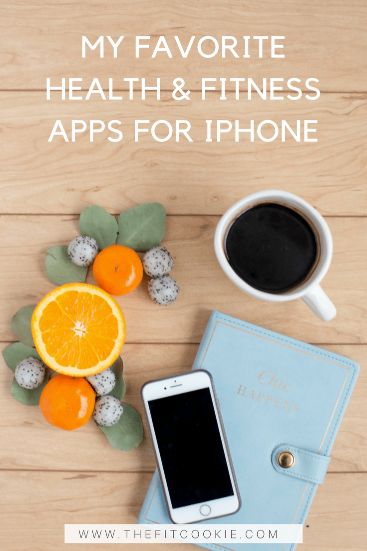 Looking for ways to stay on track with your health and fitness? Look no further than your iPhone! Here are ten of my favorite health and fitness apps for iPhone that can help you reach your fitness goals - @TheFitCookie #fitness #technology #apps