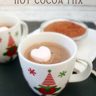 Dairy Free Hot Cocoa Mix - #dairyfree #recipe #glutenfree @TheFitCookie #cleaneating