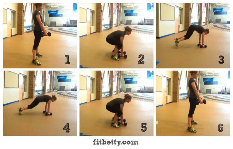 Dumbell Burpees