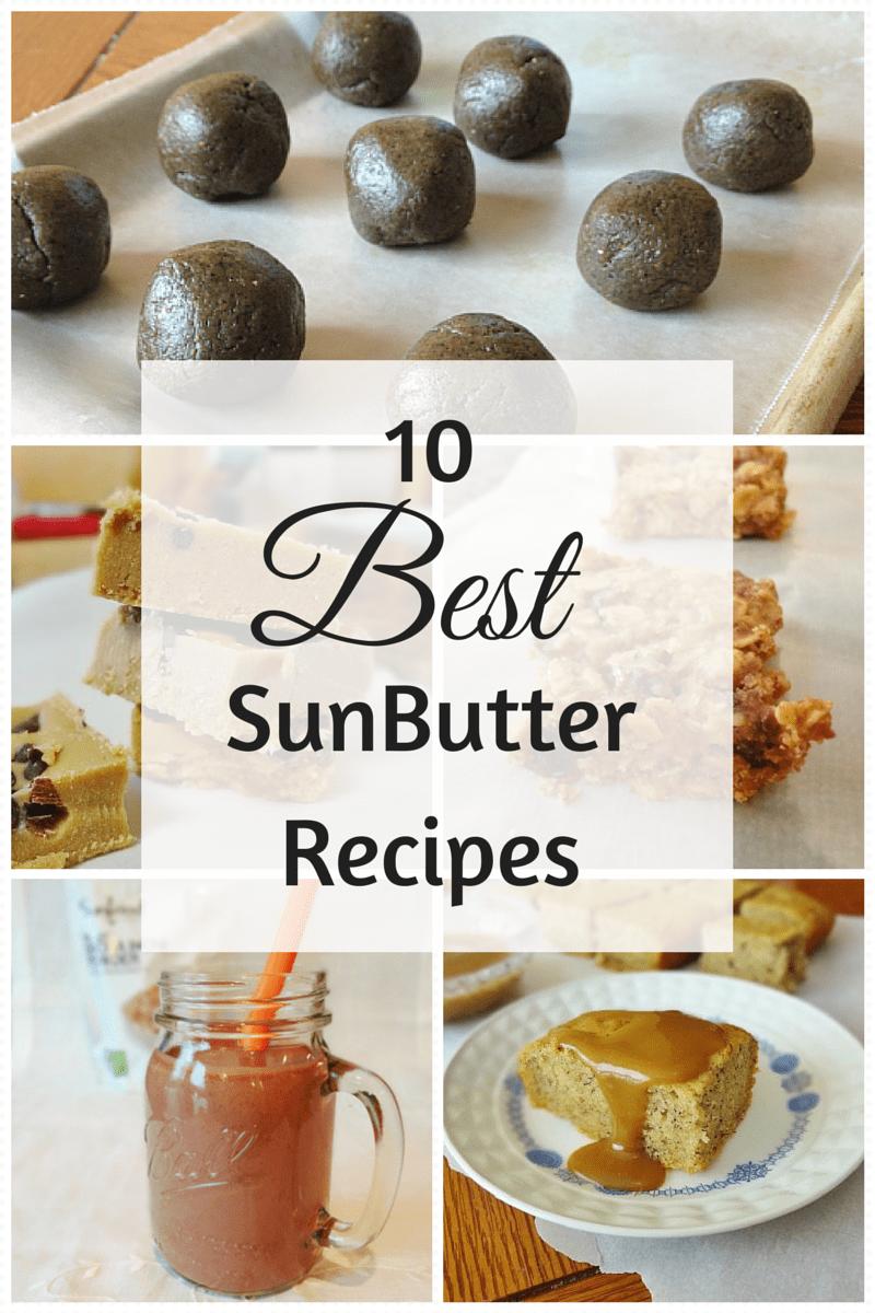 10 Best SunButter Recipes - @TheFitCookie #recipes #allergyfriendly #glutenfree