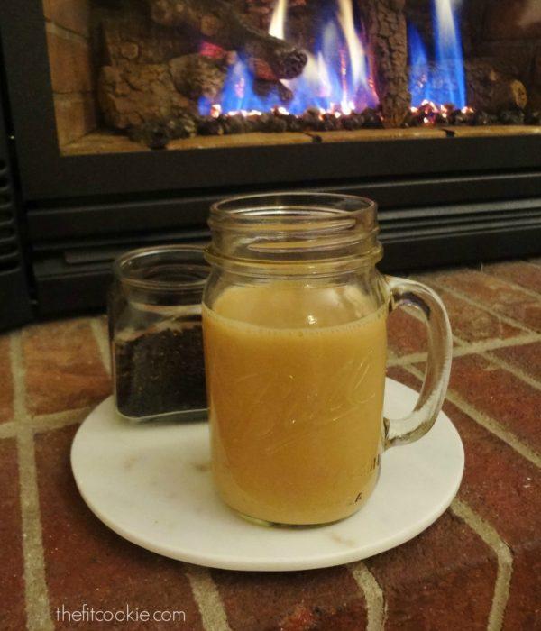 Smokey Lapsang Latte - @TheFitCookie #reciperedux #latte #recipe