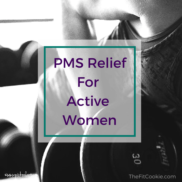 "Does ""time of month"" have you down? Keep moving throughout the month with these tips on PMS relief for active women and discover some new ideas for relief - @TheFitCookie #health #wellness"