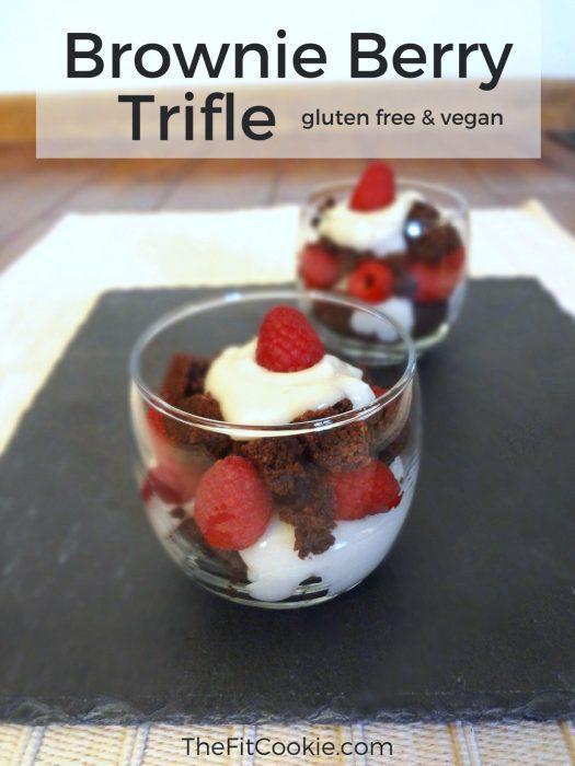 Brownie Berry Trifle {Recipe ReDux}