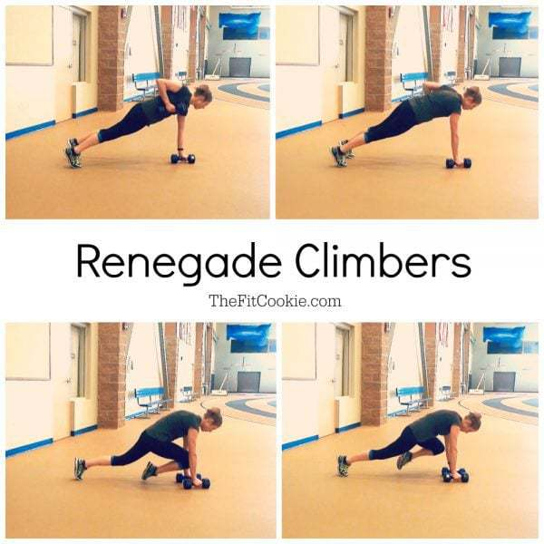 Renegade Climbers collage