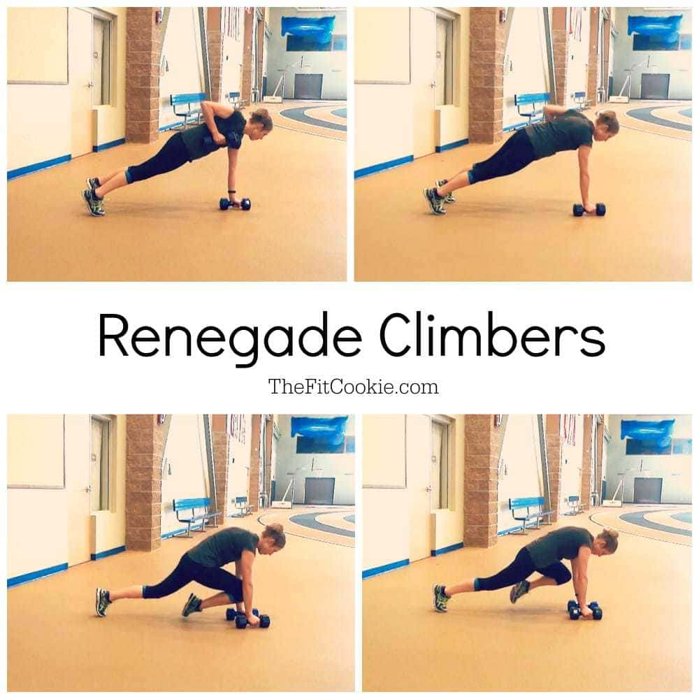 Move of the Week: Renegade Climbers @TheFitCookie #exercise #fitness #howto #video