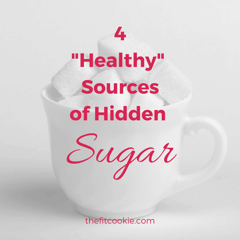 """4 """"Healthy"""" Hidden Sources of Sugar - @TheFitCookie @AlmondBreezeUS #ad #health #nutrition"""