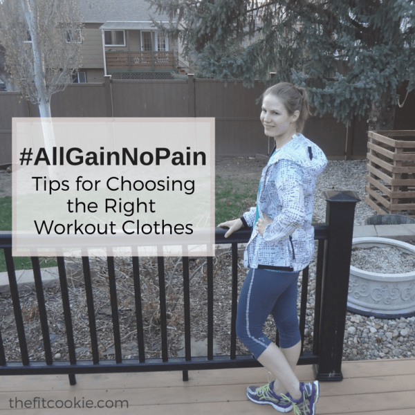 #AllGainNoPain: Tips for Choosing Great Workout Clothes #ad http://wp.me/p2Bw44-4rw @TheFitCookie @Champion