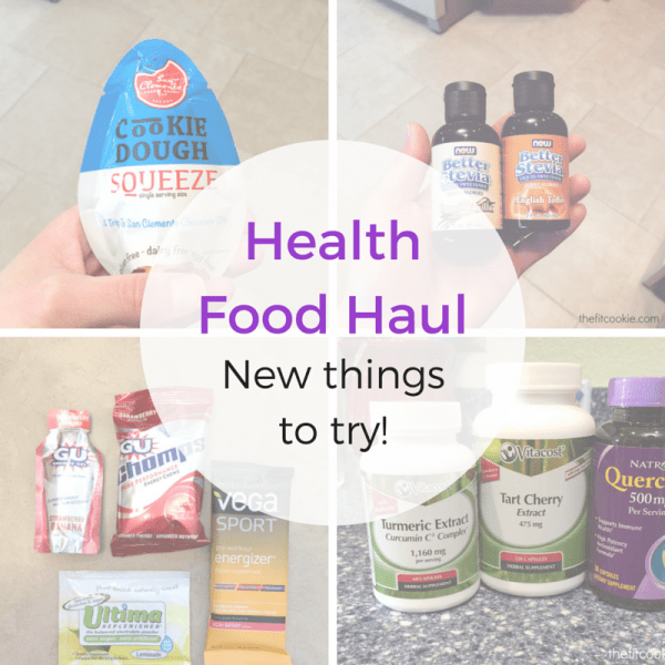 Health Food Haul: New Things to Try!