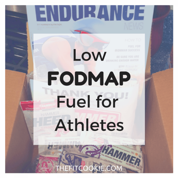 Low fodmap fuel for athletes