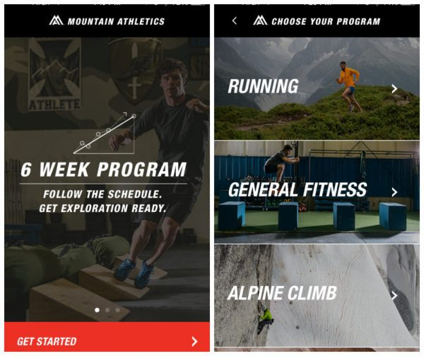 Boost Your Training with the Mountain Athletics training app - #ad #ITrainFor @TheNorthFace @TheFitCookie