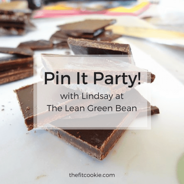 Pin It Party! - @TheFitCookie