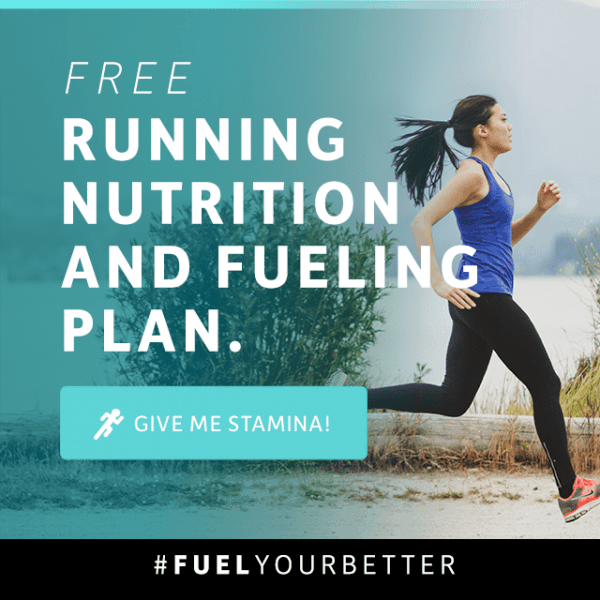 Free running nutrition and fueling plan from Vega