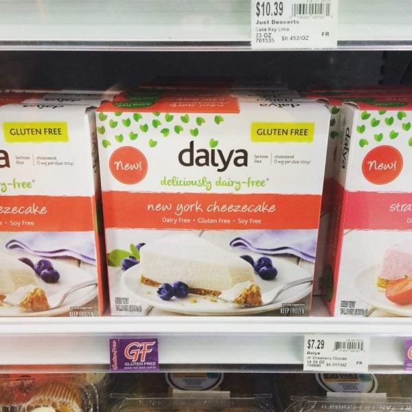 Daiya Dairy-free Cheesecake | The Fit Life #7: News and New Things - @TheFitCookie #fitness #fitfluential #cleaneating