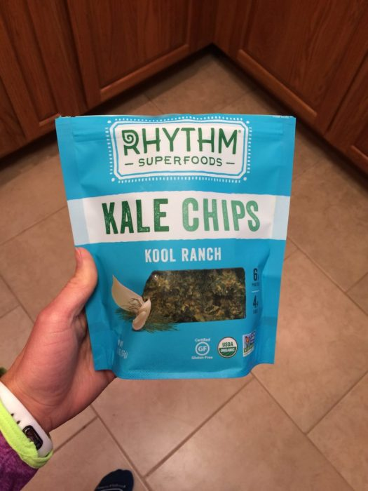 Rhythm kale Chips in Kool Ranch | The Fit Life #7: News and New Things - @TheFitCookie #fitness #fitfluential #cleaneating