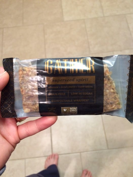 Gather paleo seed bar | The Fit Life #7: News and New Things - @TheFitCookie #paleo #fitness #fitfluential #cleaneating