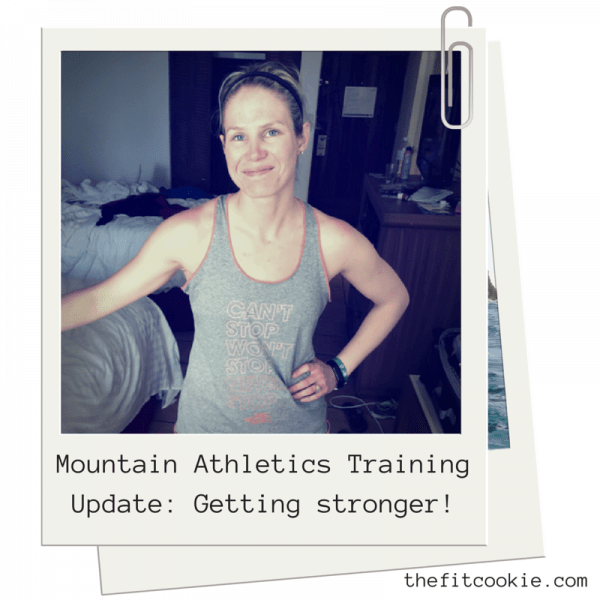 Getting Stronger: Mountain Athletics Training Update #ad http://wp.me/p2Bw44-4D9 @TheNorthFace #MountainAthletics #ITrainFor