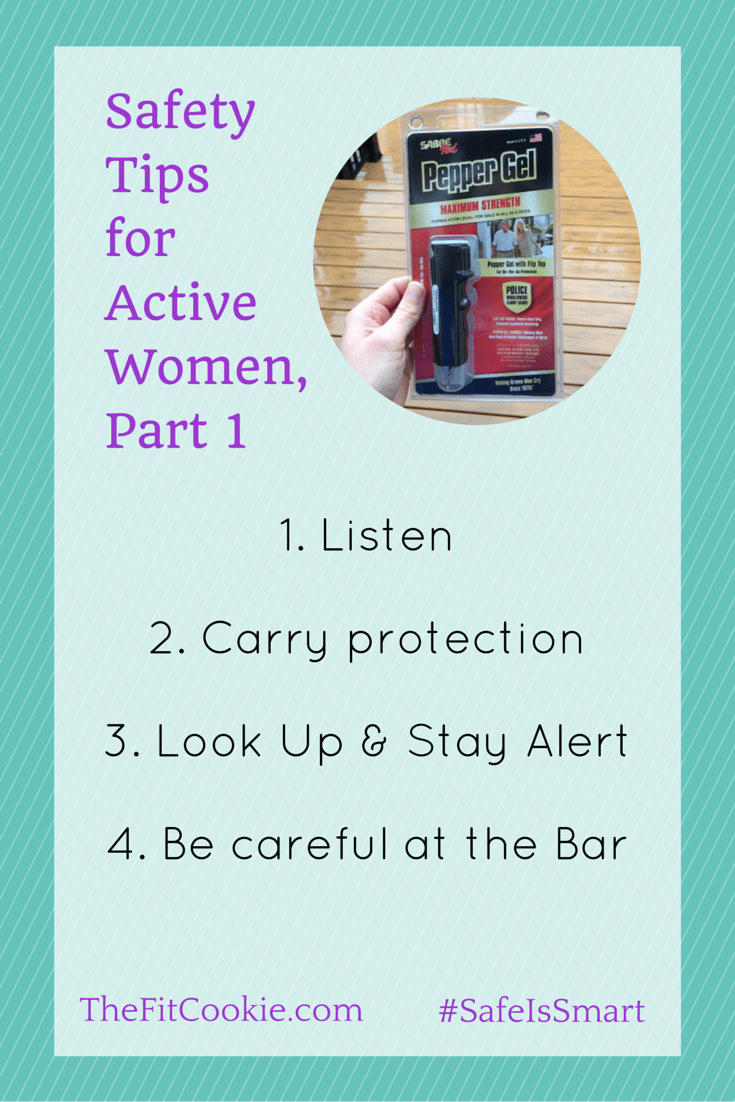 If you are an active woman, don't forget to make personal safety a priority. Here are some safety tips for women when you're working out (part 1)