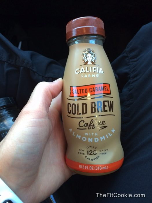 Califia Cold-Brewed Coffee - The Fit Life: News and New things #7 (and giveaway!) - #soyfree #dairyfree #coffee