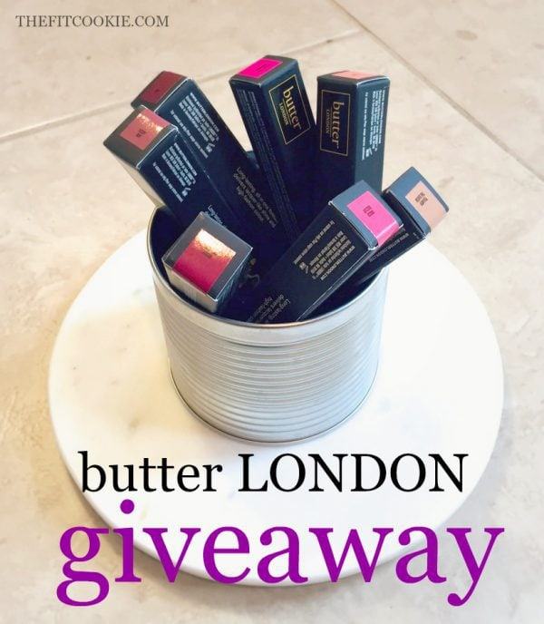 butter LONDON Lippy Lip Crayons - The Fit Life: News and New things #7 (and giveaway!) - @butterLONDON #giveaway
