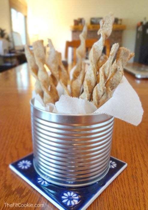 Cinnamon Sugar Twists #RecipeRedux - #glutenfree #vegan #recipe @TheFitCookie