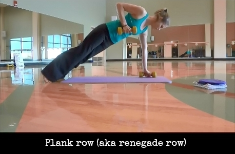 PLank row: HIIT the Weights Workout #fitness #workout #fitfluential #HIIT @TheFitCookie