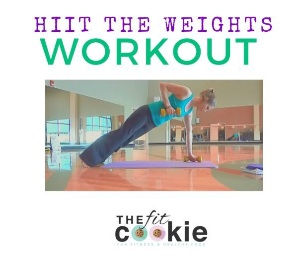 HIIT the Weights Workout