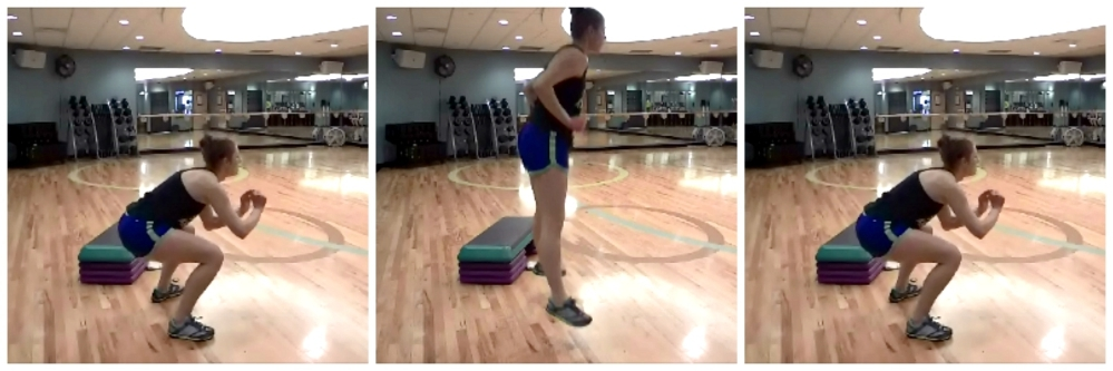 Jump squats: HIIT the Weights Workout #fitness #workout #fitfluential #HIIT @TheFitCookie