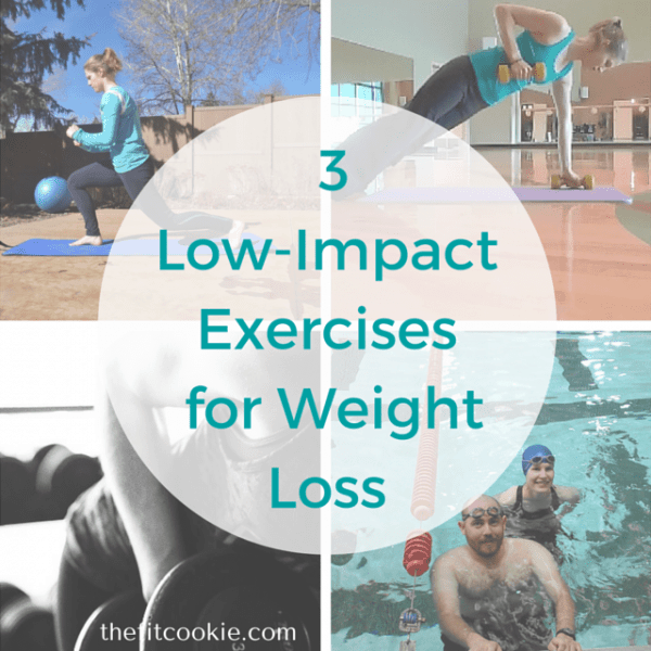 3 Low-Impact Exercises for Weight Loss {AD} @kiqplan #fitness #weightloss @FitbugActive