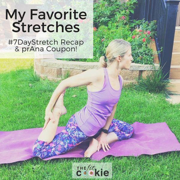 My Favorite Stretches & #7DayStretch Recap - #ad #LiveInprAna @prAna @FitApproach #sweatpink