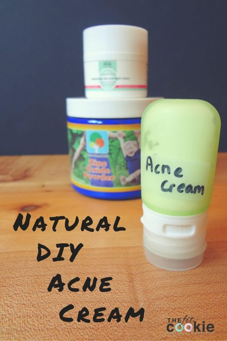 Top 15 Posts of 2016 from The Fit Cookie: Natural DIY Acne Cream - @TheFitCookie #DIY #green