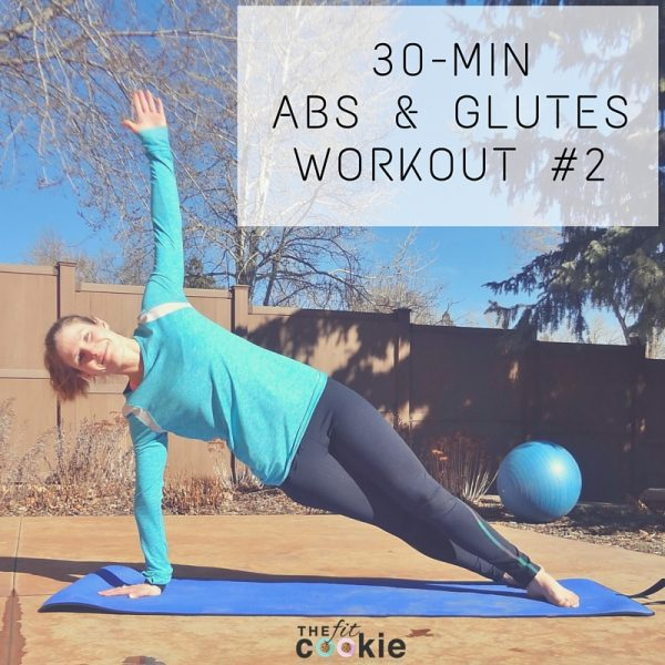 30-Minute Abs & Glutes Workout #2