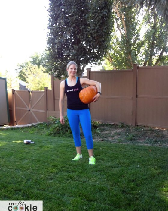 Fun Fall Pumpkin Workout - #ad @Flonase @TheFitCookie #workout #fall #fitness #exercise