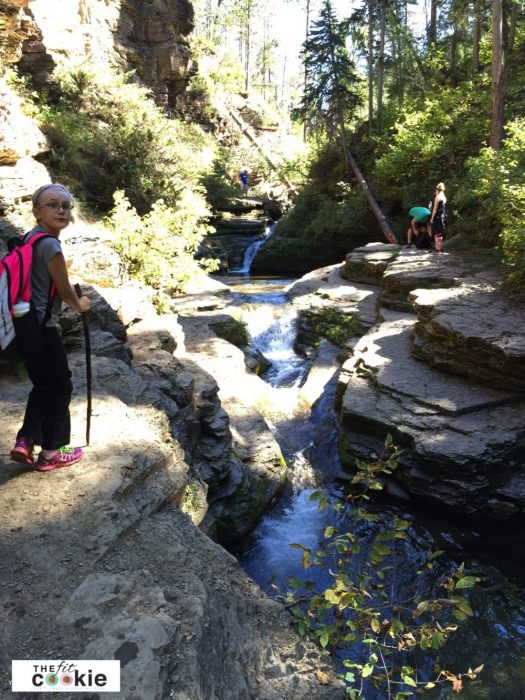 Devil's Bathtub hike in the Black Hills - #hike #outdoors #fitfluential