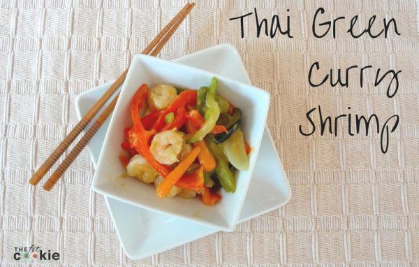Thai Green Curry Shrimp {Recipe ReDux}