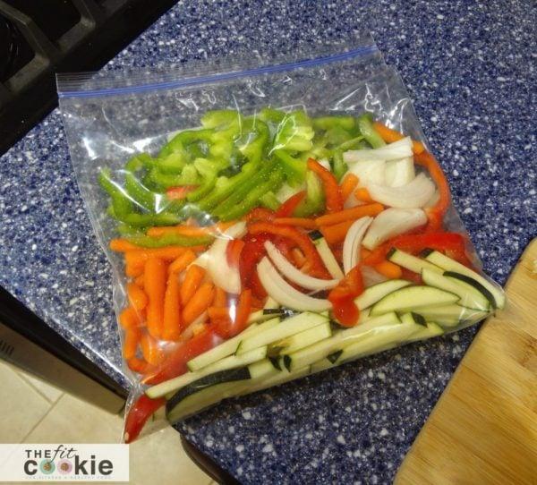 Thai Green Curry Shrimp recipe - @TheFitCookie #threciperedux #glutenfree #entree #freezermeal