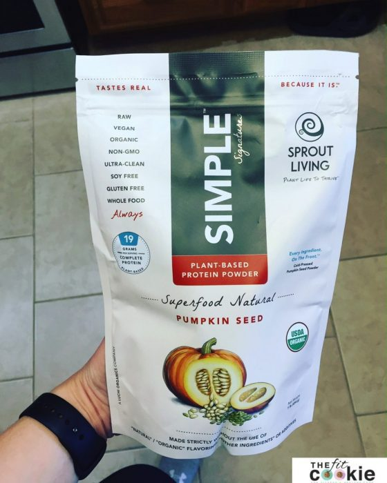 Pumpkin seed protein powder - The Fit Life: News and New Things #11 - #fitfluential #sweatpink @momentumjewelry @thefitcookie