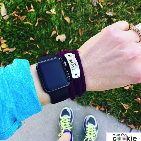 Be BRAVE Momentum wrap bracelet - The Fit Life: News and New Things #11 - #fitfluential #sweatpink @momentumjewelry @thefitcookie