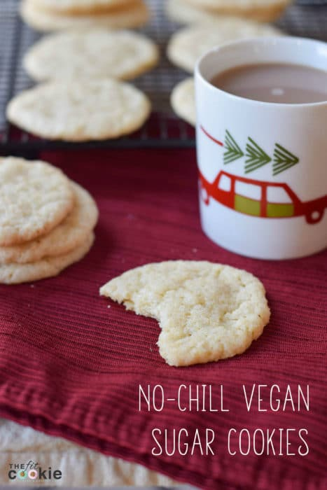 Top 15 Posts of 2016 from The Fit Cookie: No-Chill Vegan Sugar Cookies - @TheFitCookie #vegan #cookies