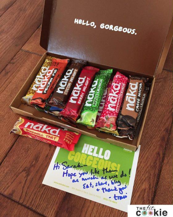Win a Box of @Nakd Bars! #giveaway #eatnakd