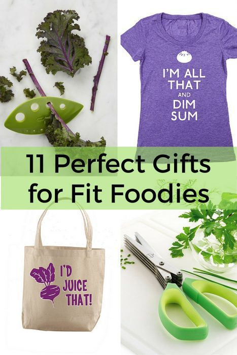 11 Perfect Gifts for Fit Foodies