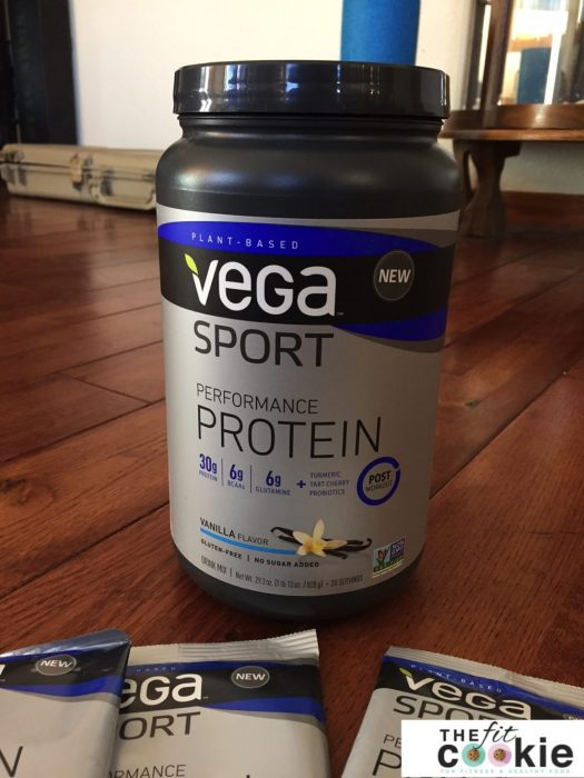 Enter to win the NEW Performance Protein from @VegaTeam & @thefitcookie! #Giveaway #win #fitfluential #sweatpink