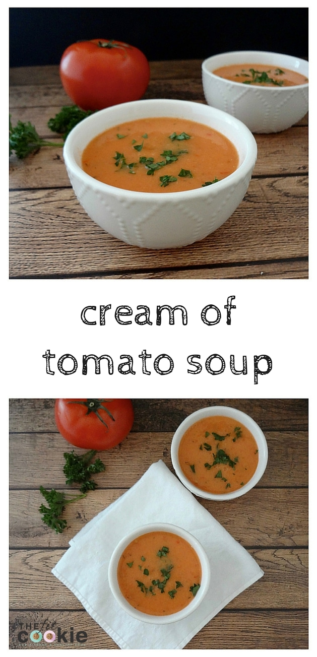 Delicious and easy to make Cream of Tomato Soup: low-FODMAP, Grain-free, & Vegan - #ad #VSL3KnowTheDifference #VSL3Recipes @thefitcookie #recipe #vegan #glutenfree