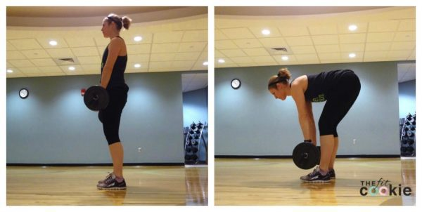 Romanian Deadlift: 30-Minute Abs and Glutes Circuit - @thefitcookie #workout #fitness #fitfluential #sweatpink