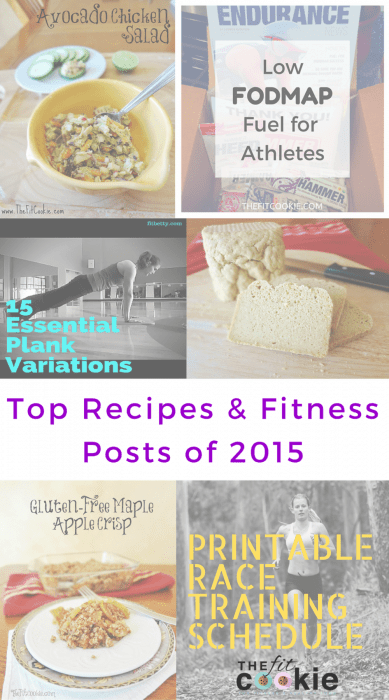 Year in Review: Top Recipes and Fitness Posts of 2015