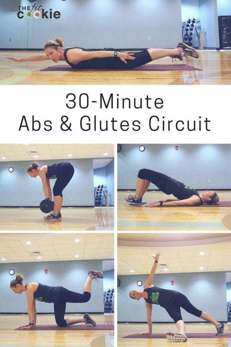 30-Minute Abs and Glutes Circuit