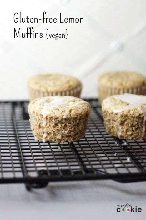 Gluten-Free Lemon Muffins (Vegan)