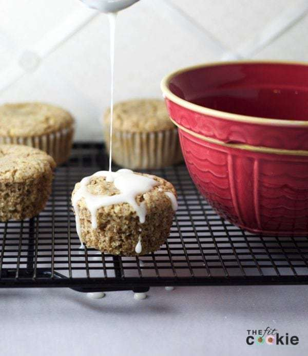 Gluten Free and Vegan Lemon Muffins by The Fit Cookie