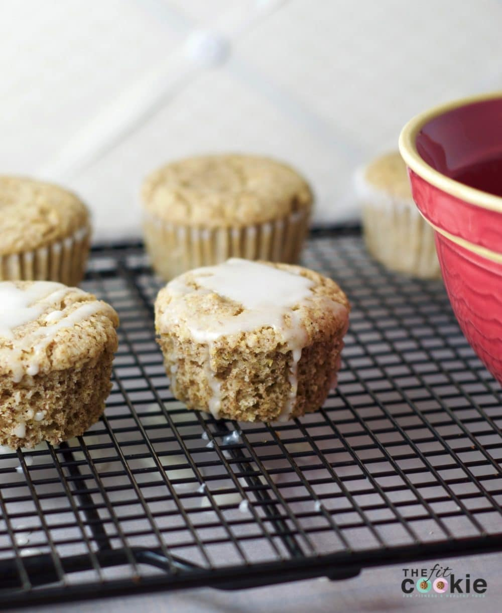 Gluten-Free Lemon Muffins {Vegan} - #thereciperedux #recipe #vegan #glutenfree @thefitcookie