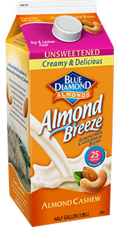 Almond Breeze Almondmilk Cashewmilk Unsweetened