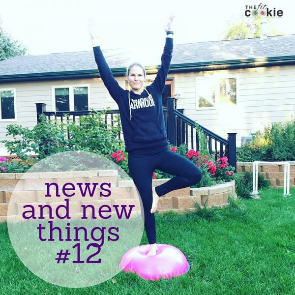 News & New Things #12: races, interviews, ebooks, and more! - @thefitcookie #fitfluential #sweatpink #fitness